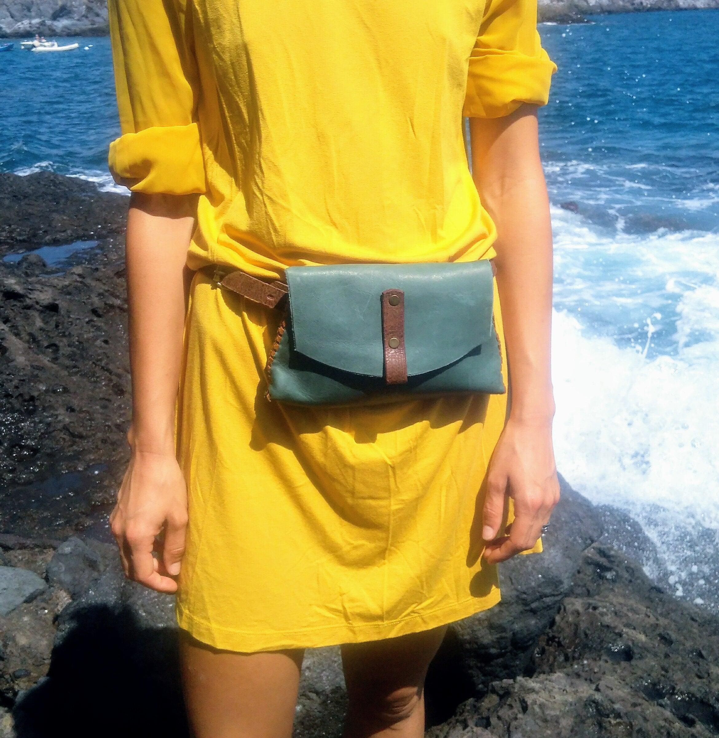 Belt Bag*Fanny Pack*Waist Bag*Women Leather Waistbag* Fanny Bag*Travel Bag*Small Bag*Women Bag*Leather Bag*Fashion Bag*Handmade Belt Bag