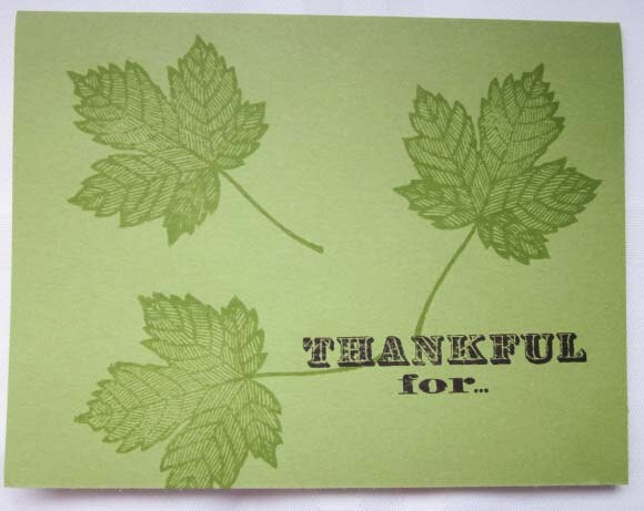 Thankful Card created by Certain Smiles