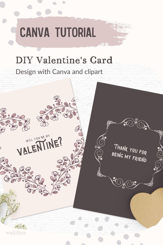 DIY Valentines card tutorial