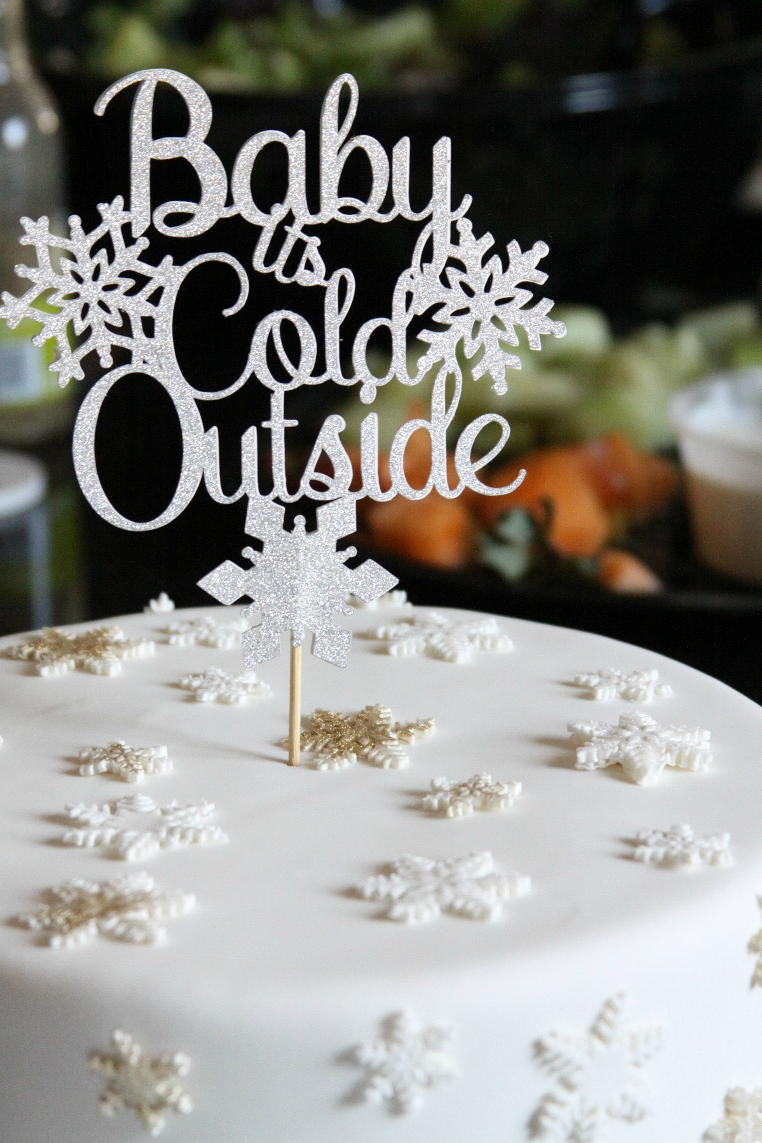 Baby Its Cold Outside Cake