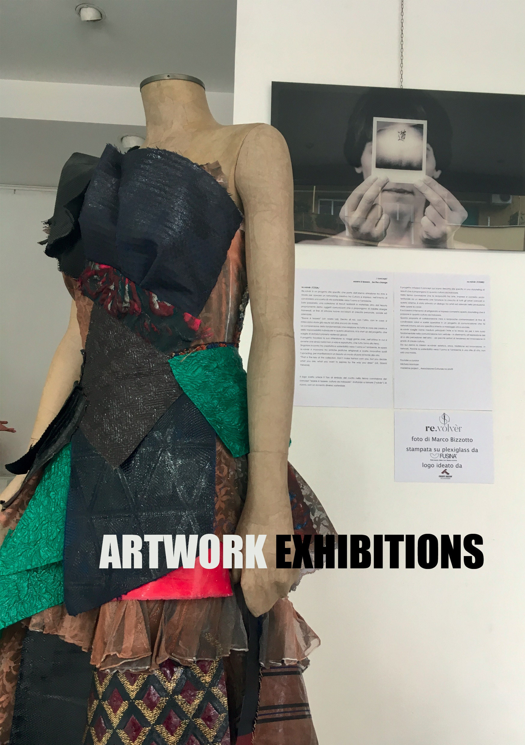 Lola Darling Artwork Exhibitions. The brand book