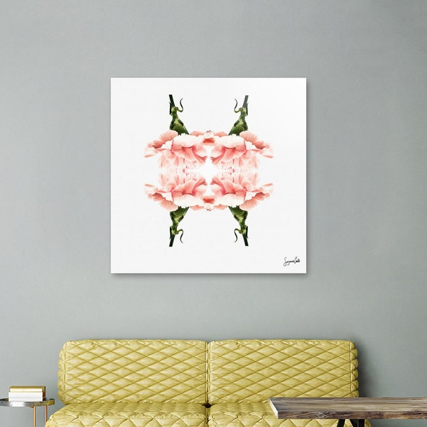 Pink Carnations wall art