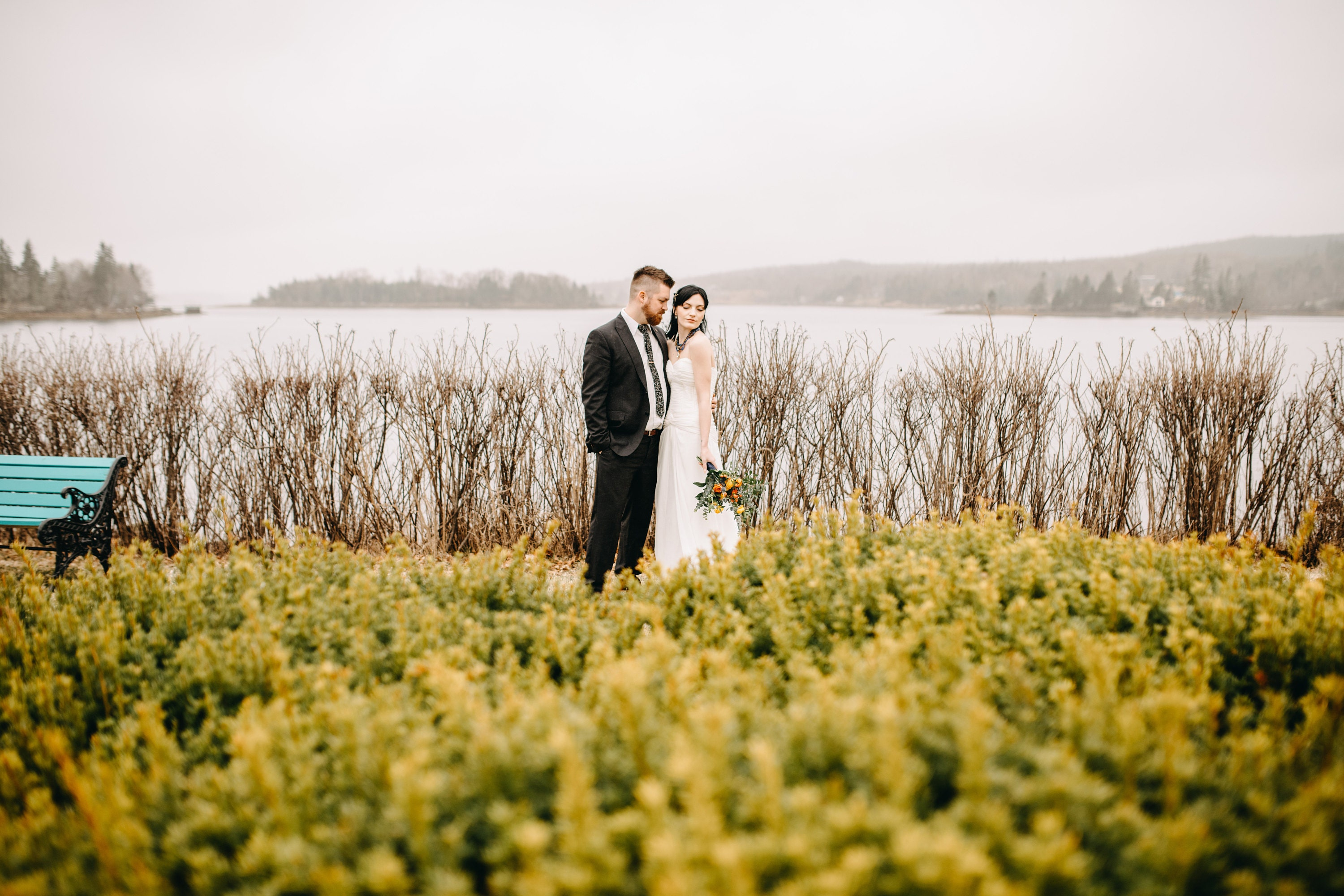 Seaside wedding Nova Scotia