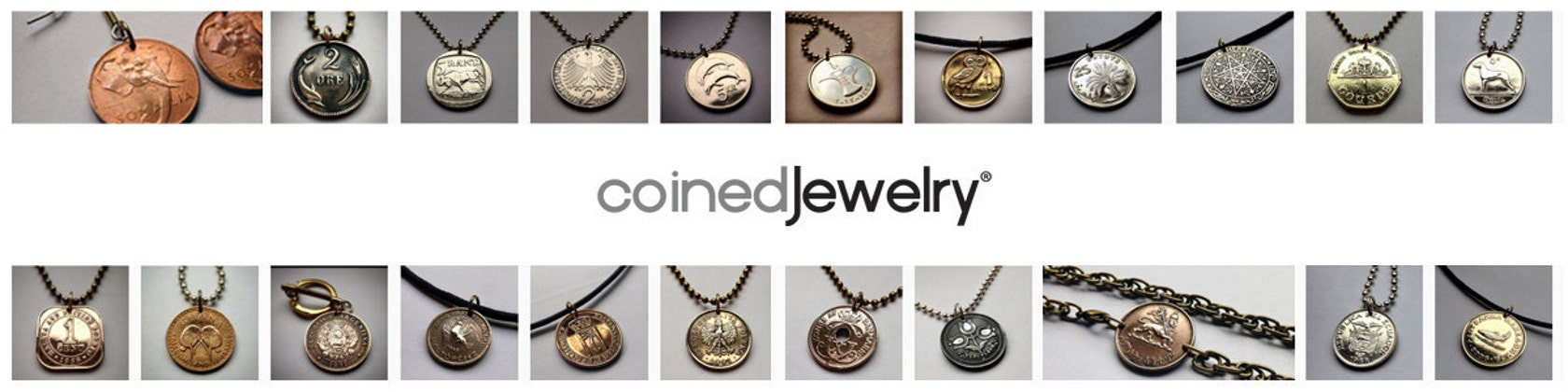 Unique Hand Crafted Coin Jewelry Pendants Von Coinedjewelry Auf Etsy