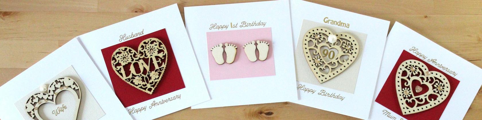 Greeting Cards Unique & Personalised von FyneHandmadeCards auf Etsy