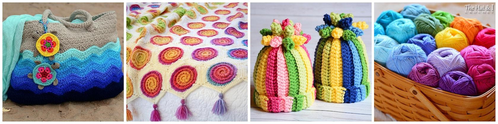 d2f86b8b13f Crochet patterns for beautiful blankets hats   more by TheHatandI