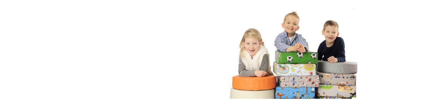 Faultiere H/öhe 10cm barfuss Kinder Stuhl Sitzerh/öhungMotiv-Lederoptik f/ür Kleinkinder und Kinder ab 3 Jahre