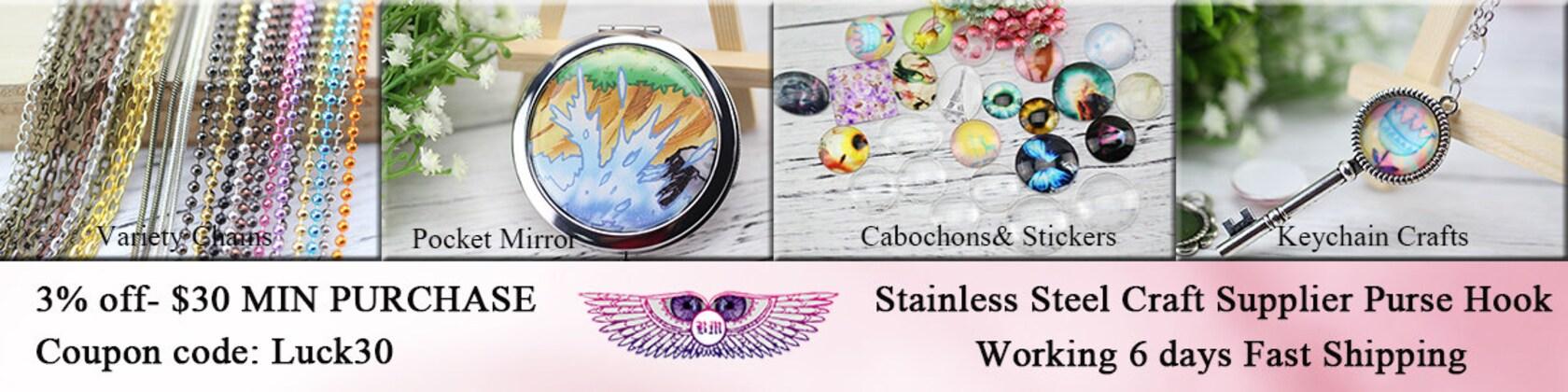 Photo Craft Supplies Cabochons and Bezel Blanks von Bronzemetal