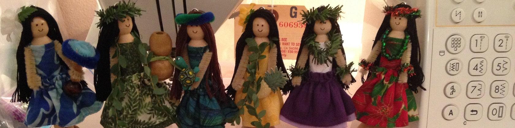 0434b8ae888f1 Hawaiian Christmas Ornaments von kalenadesign auf Etsy