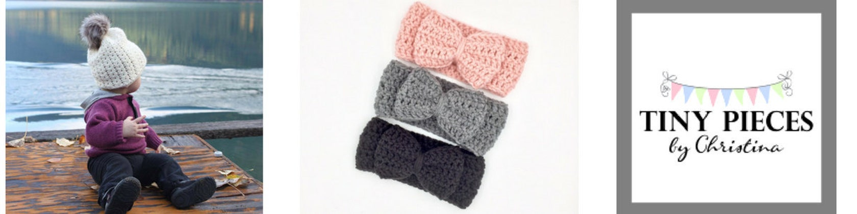 Crochet Baby Accessories by PiecesByChristina on Etsy