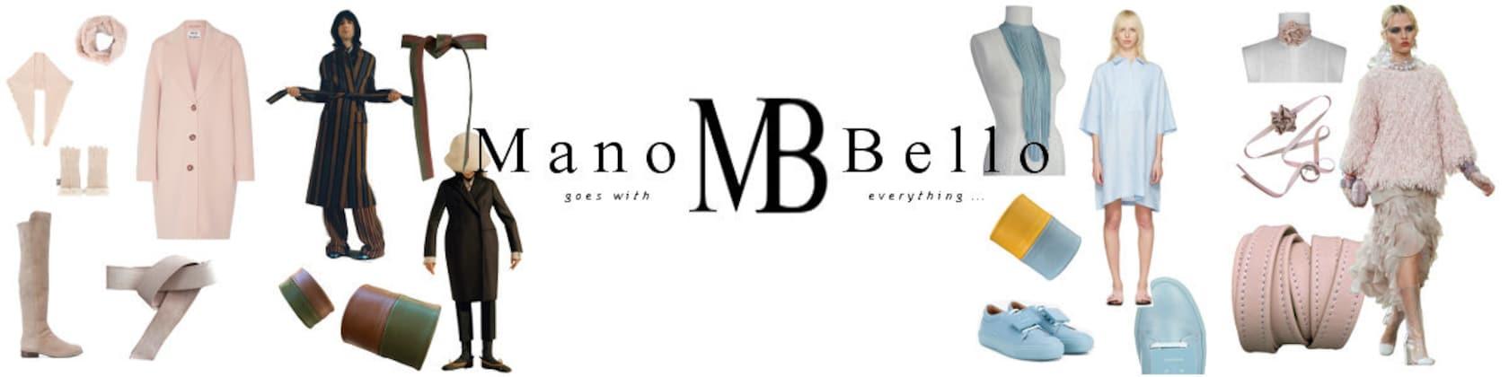 ManoBello leather belts & bags etc. go with by ManoBello on Etsy