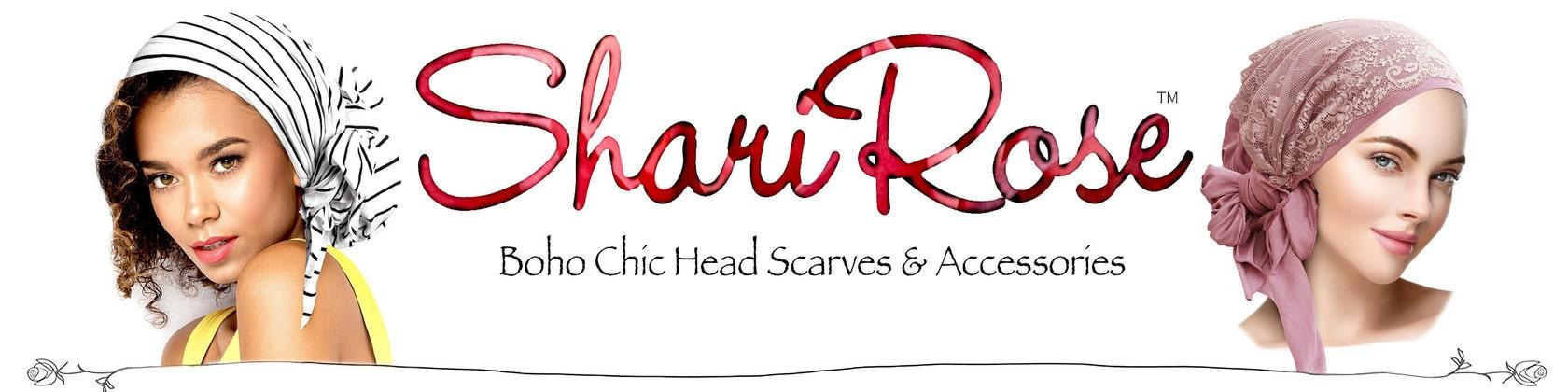 Head Scarf Tichel Pre-Tied Bandana Chemo Hat Hair por ShariRoseShop