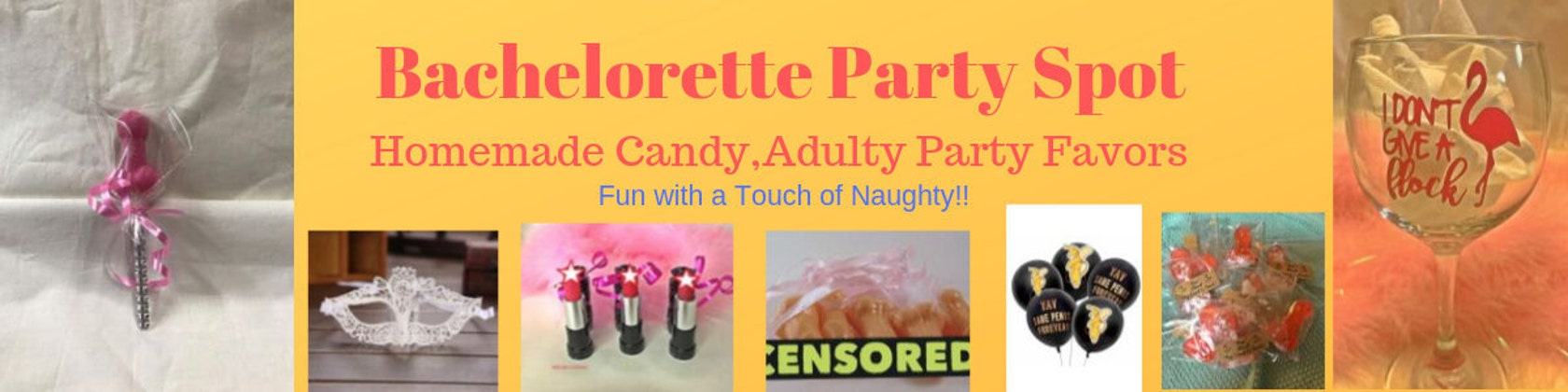 Bachelorette Party Favors Multi Colour Pecker Candy Sprinkles