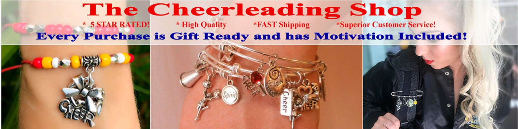 Cheerleading jewelry cheerleading gifts by thecheerleadingshop thecheerleadingshop fandeluxe