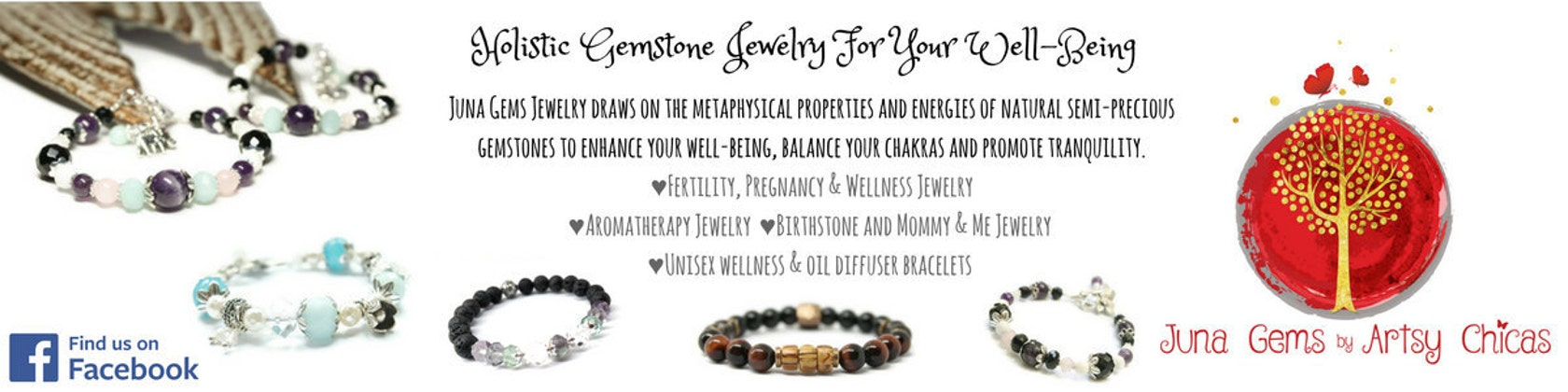 faa4083be63f Holistic Gemstone Fertility   Wellness Jewelry by artsychicas