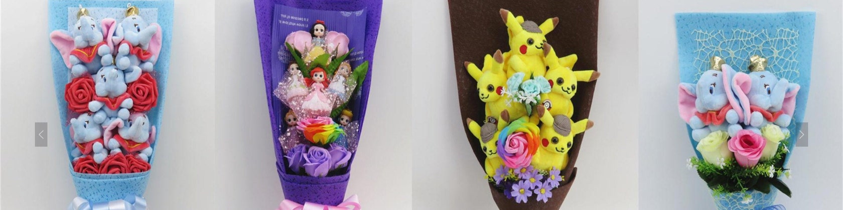 gifts for daughter Dreamworks Animation Inspired Night Fury Small Bouquet Gifts for girl birthday gift for girl