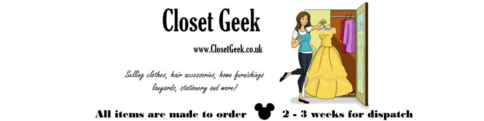 Bon Closetgeeksite. Closet Geek ...