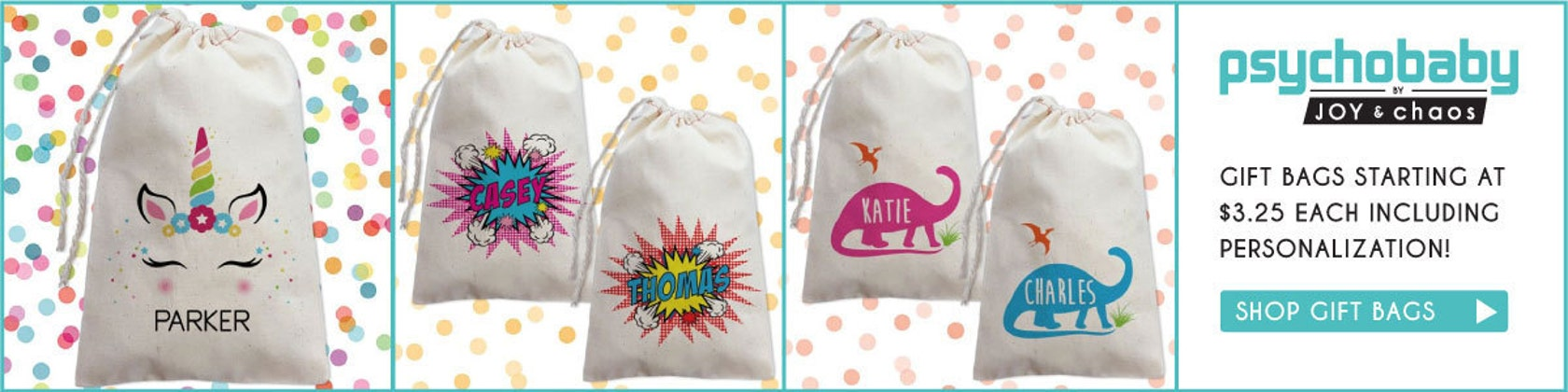 Personalized Gifts for Cool Babies Kids and di ShopPsychobaby df2e2c90b87