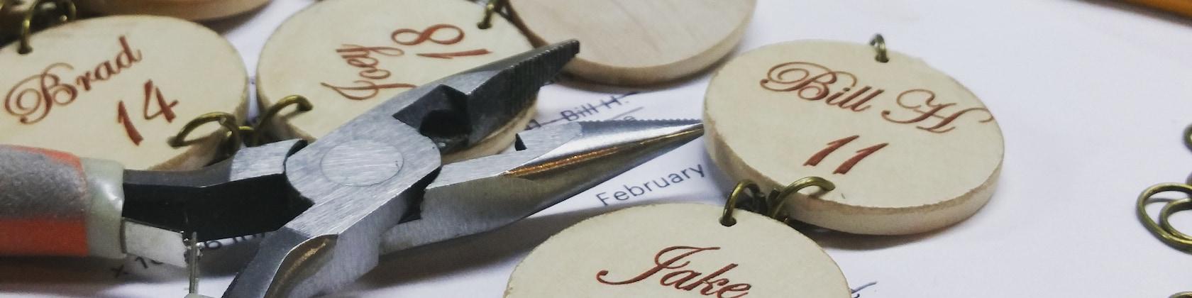 Personalized signs custom calendar fun frames & von LizzyFishSigns
