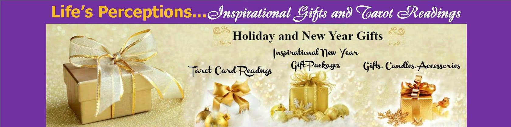 Inspirational Gifts Accessories and Tarot by LifesPerceptions
