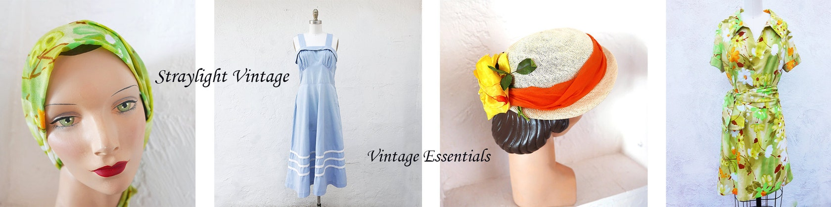 2e46b678cfc Vintage Essentials by StraylightVintage on Etsy