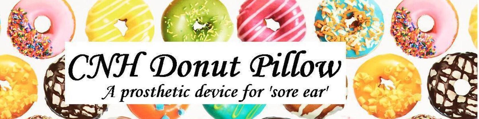cnh ear donut pillow by CNHdonut on Etsy