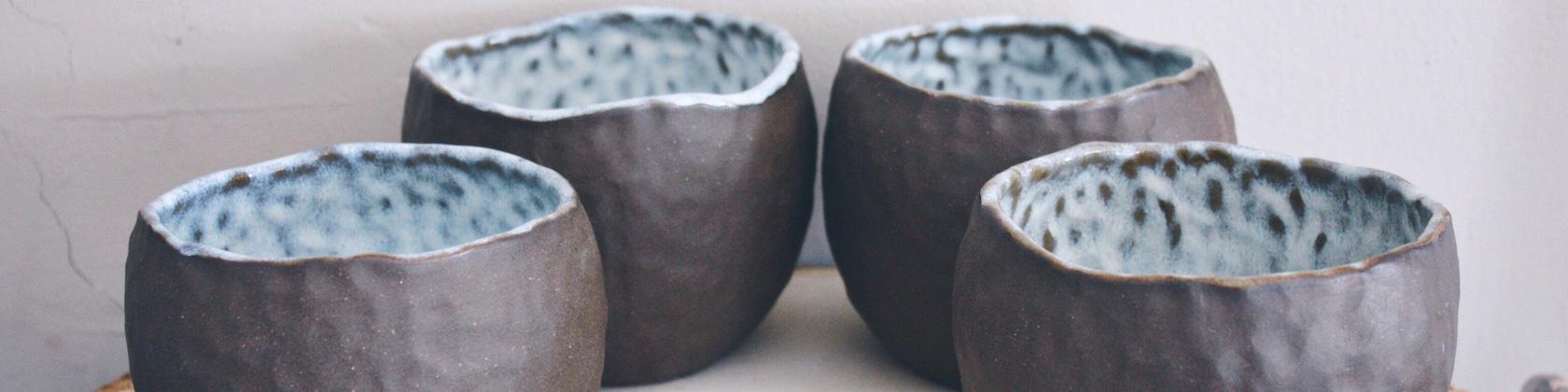 Small-batch handmade pottery & crocheted by MudandYarn on Etsy