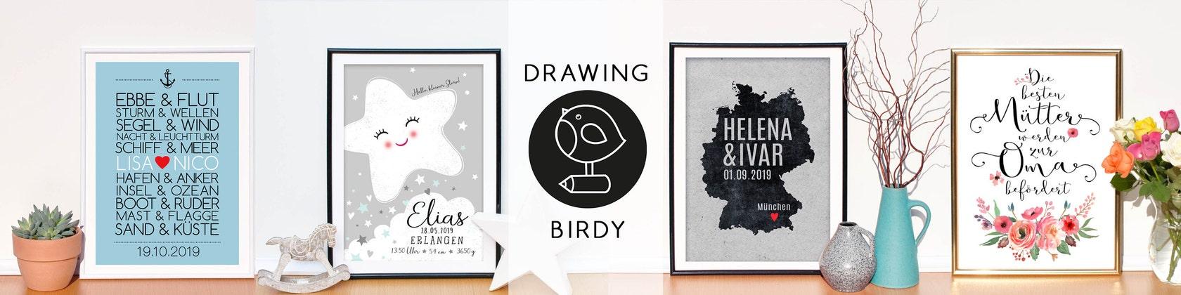 Drawingbirdy By Drawingbirdy On Etsy
