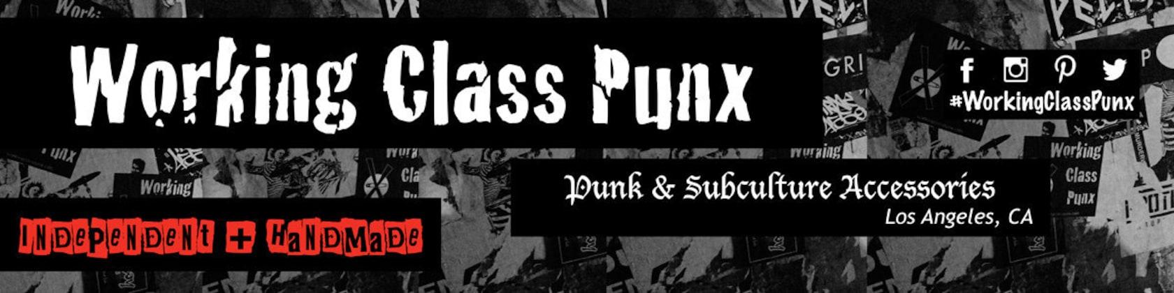 Handmade Utilitarian Punk Rock Accessories von WorkingClassPunx