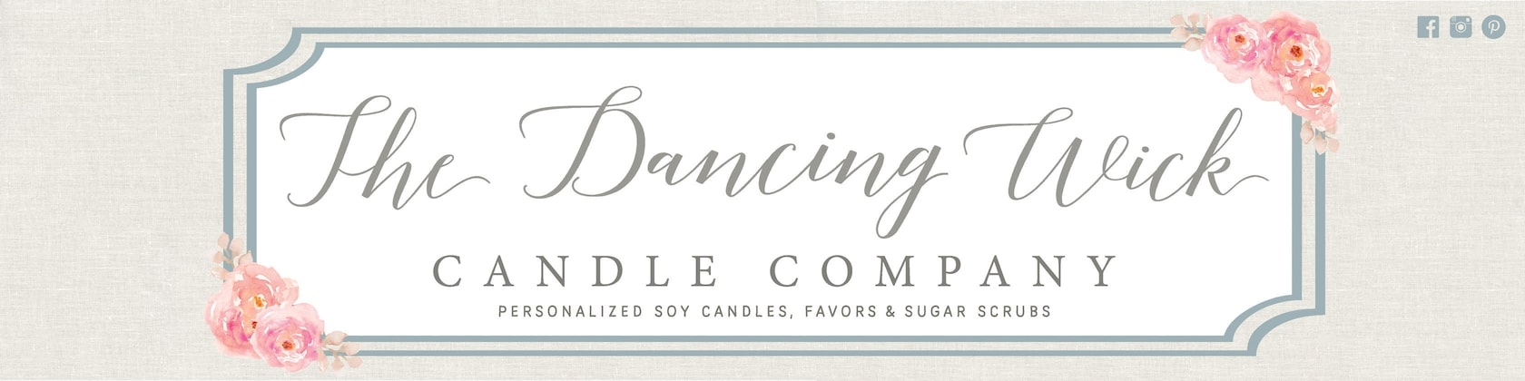 Personalized Soy Candles Favors Sugar Scrubs By Thedancingwick