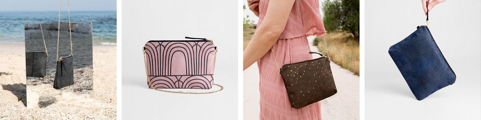 Handtaschen und Schals inspiriert von der modernen von LeeCoren