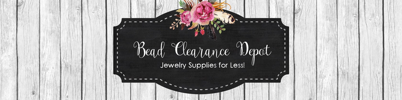 69b72cb9d0fe66 Jewelry Supplies for Less by BeadClearanceDepot on Etsy