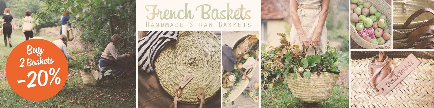 Basket Market Medium  My girls   Orange Original Marrakech