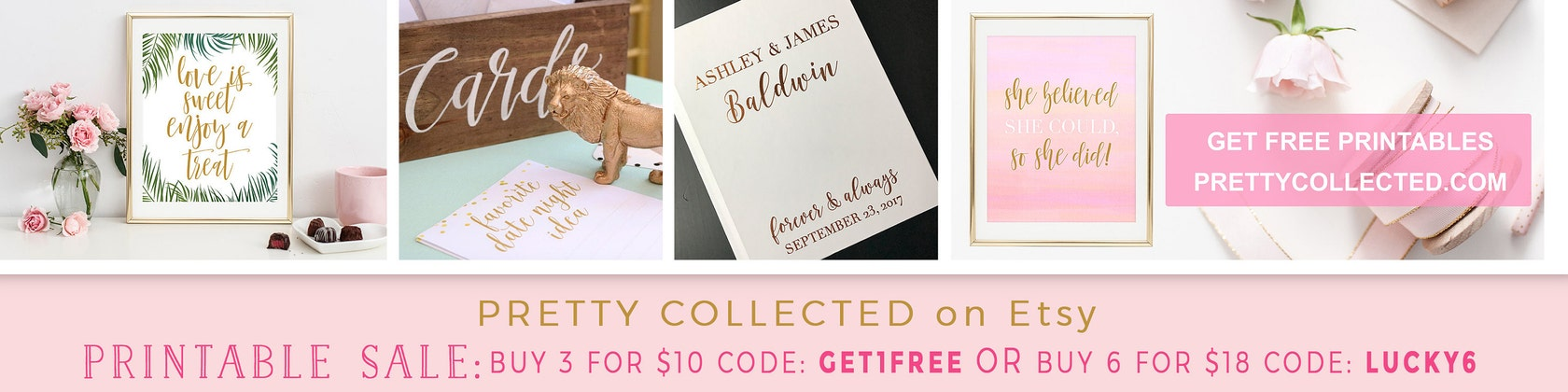 Bridal Shower & Baby Shower Games Wedding by PrettyCollected