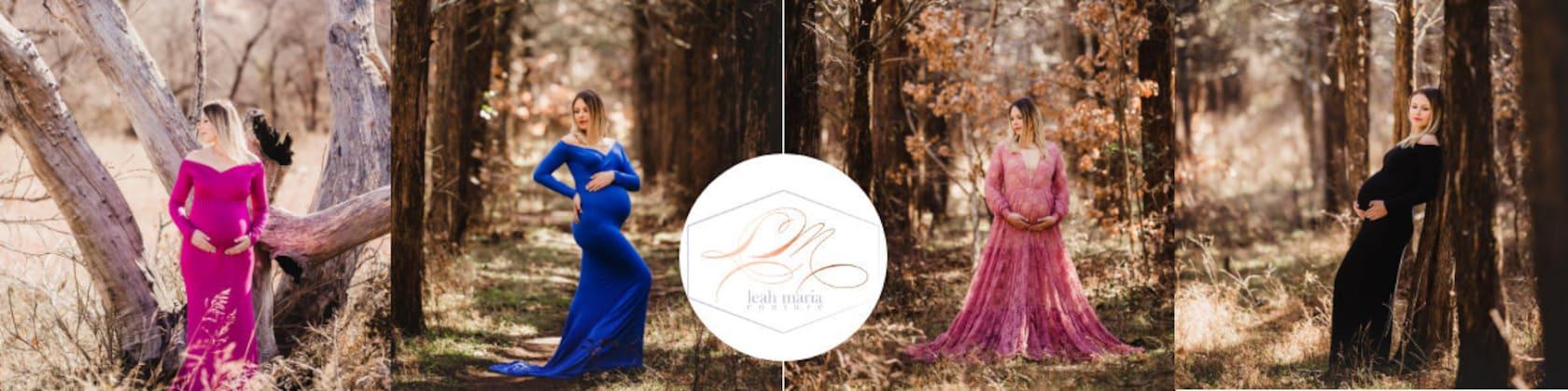 70dac77358 Custom made dresses   Maternity Gowns por LeahMariaCoutureShop