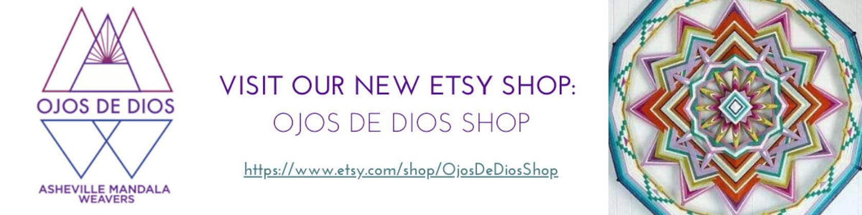 New Shop Ojosdediosshop By Asheville Mandala By Jaysmandalas