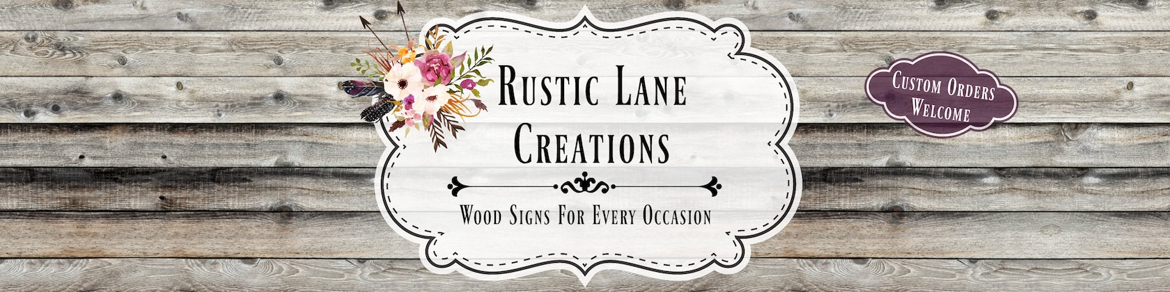 31b99c2cc115 Custom hand crafted wooden signs for your by RusticLaneCreations