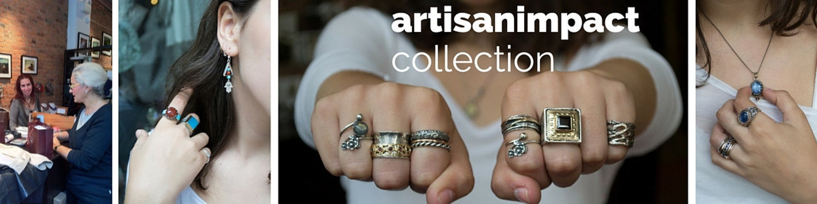 Artisanimpact Statement Silver And Gold Jewelry By Artisanimpact