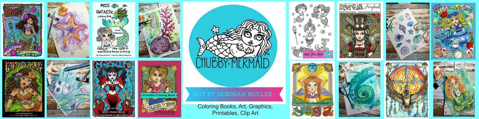 ChubbyMermaid FUN COLORING BOOKS