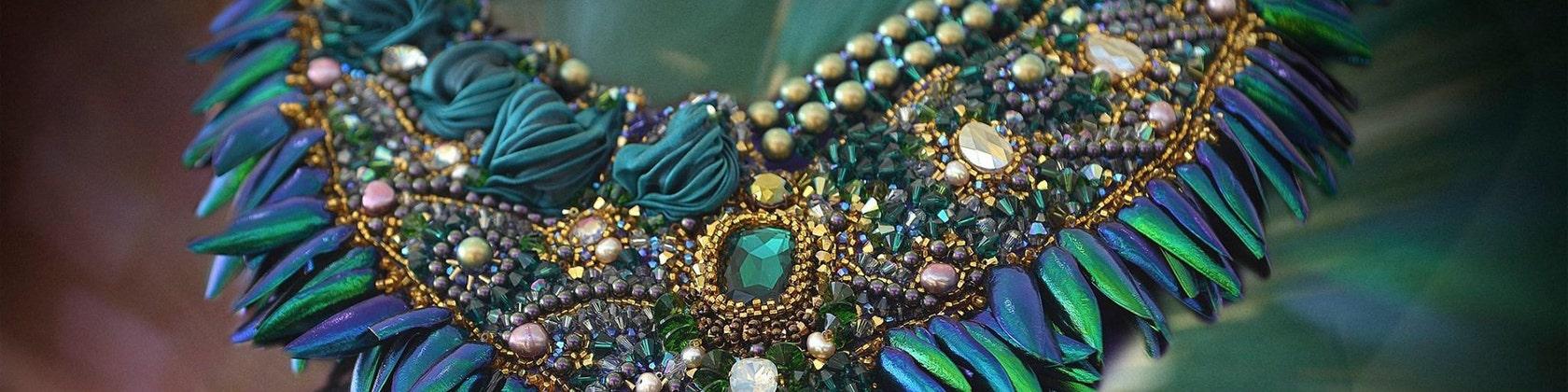 282c64dc2 Haute fantaisie handmade jewelry made in French by beadsofaquarius