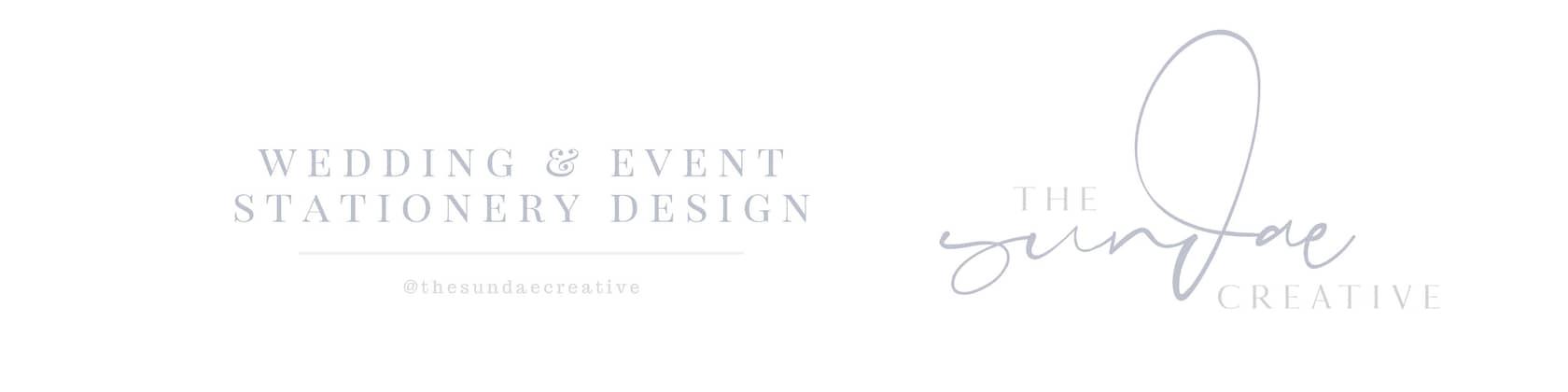 Wedding Event Stationery Design By Thesundaecreative On Etsy