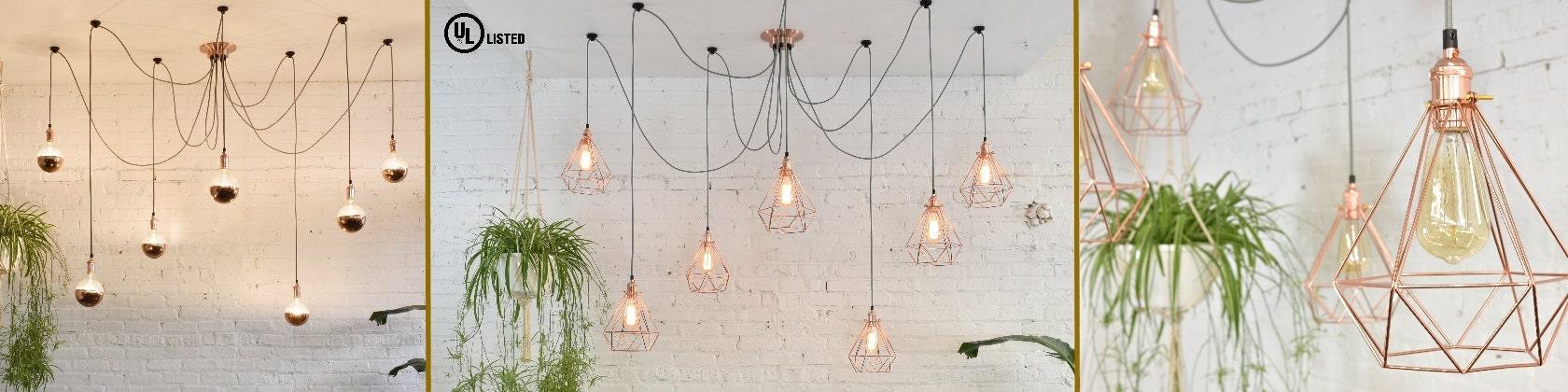 Hanging Pendant Lights and Chandelier Lighting de