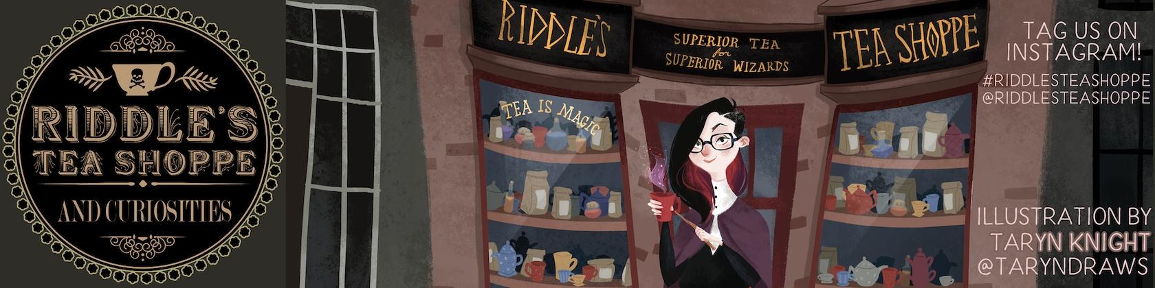 Riddle's Tea & Curiosities by RiddlesTeaShoppe on Etsy