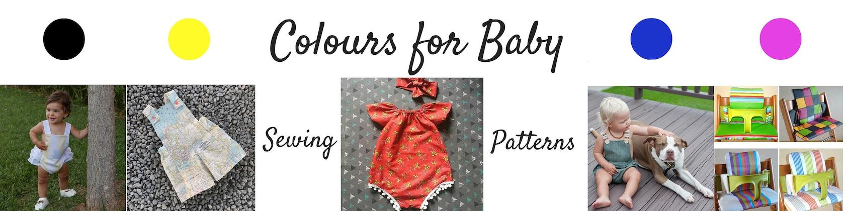 Patrones Únicos de Costura Infantil y Bebés por ColoursforBaby