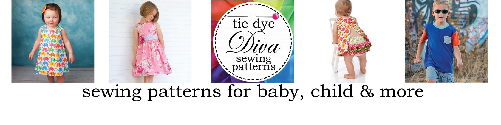 Sewing patterns to download for baby girl & children by tiedyediva