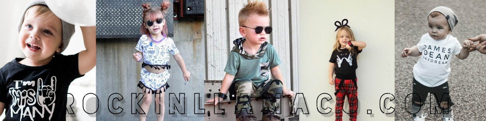 Checker Leg Pocket Harem Pants Baby Toddler Grunge Goth Cool Boy Clothes Rocker Baby Shower Little Rockstar Skater Boy