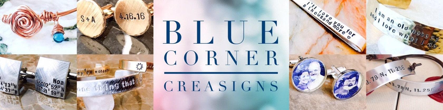 Personalized Jewelry Custom Jewelry metal by BlueCornerCreasigns