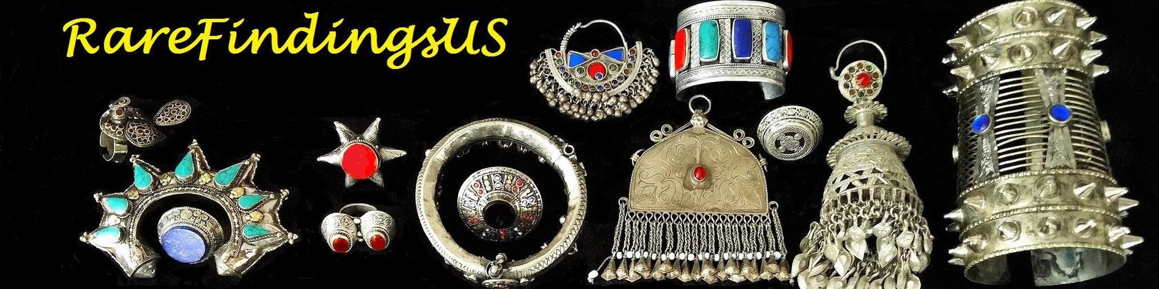 14 Vintage Turkoman Buttons DIY Findings Belly Dancing Costume Supply Dress Designing Tribal Kuchi Afghan Boho Handmade Rare Buttons Tassels
