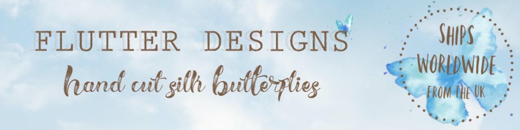 Flutter Designs by flutter2me on Etsy
