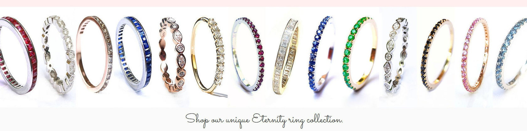 c367b2ff36d12 Fine Gold and Gemstone Jewelry . Diamond Eternity Rings by Polamai